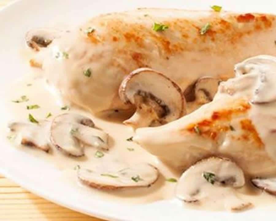Escalopes de poulet à la crème au thermomix