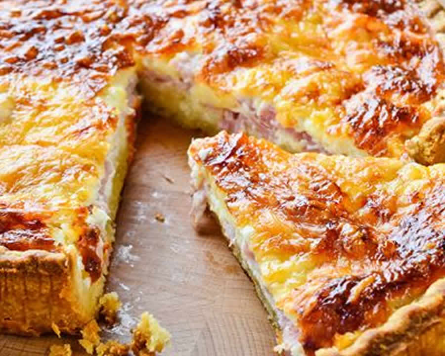Quiche alsacienne au thermomix