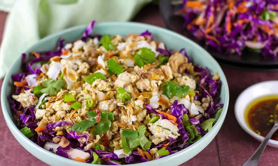 Salade de chou rouge au thermomix