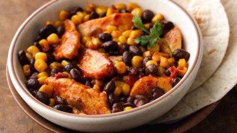 Poulet à la mexicaine au cookeo