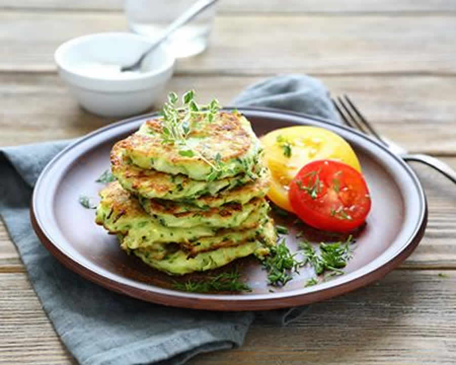 Blinis de courgette au Thermomix