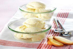 Crème glacée au mascarpone vanillé au Thermomix