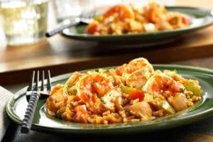 Jambalaya poulet-crevettes au Thermomix