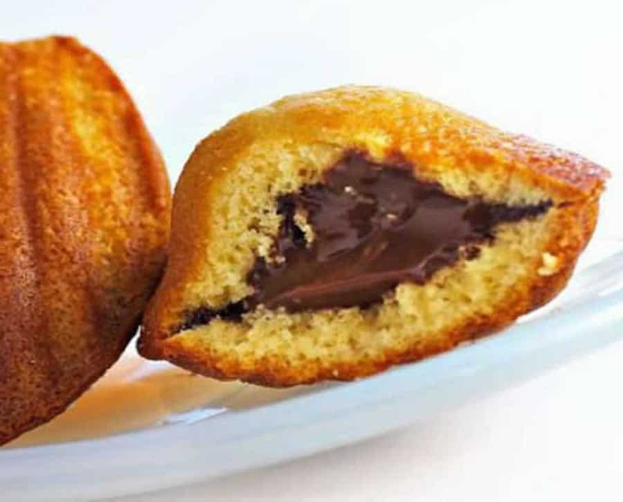 madeleines au nutella au thermomix recette thermomix. Black Bedroom Furniture Sets. Home Design Ideas