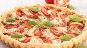 Quiche aux tomates et fromage de chèvre au Thermomix
