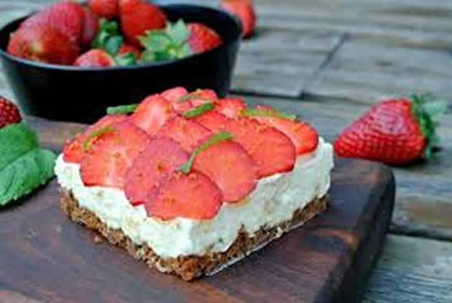 Tartelette aux fraises citron et spéculoos au Thermomix