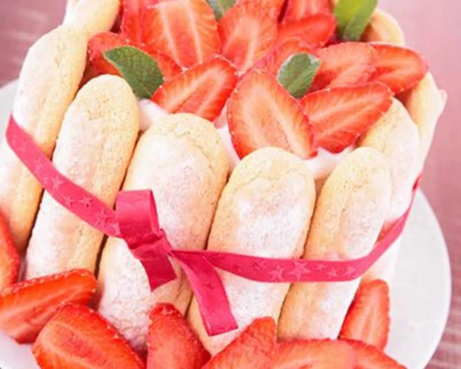 Charlotte aux fraises au Thermomix