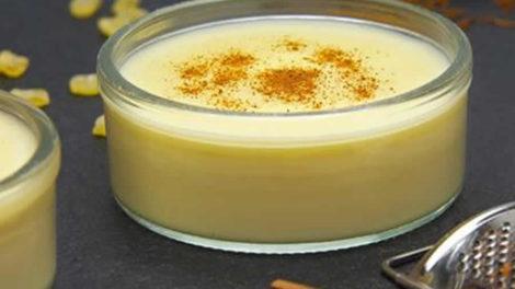 Crème dessert sans œufs au Thermomix