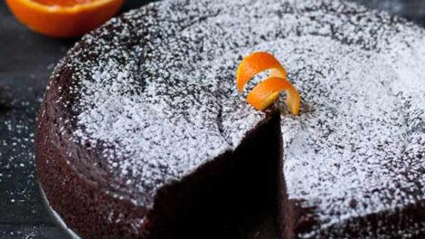 Gâteau au chocolat à la pulpe d'orange au Thermomix