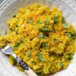 Risotto aux courgettes et carottes au Thermomix