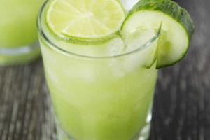 Cocktail au concombre et citron vert au Thermomix