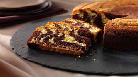 Gâteau au Yaourt Zébré au Thermomix