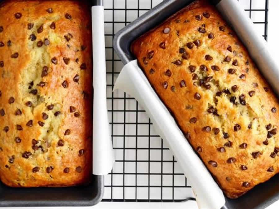 Gâteau aux bananes et pépites de chocolat au Thermomix