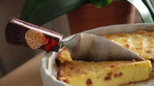 Gâteau de semoule aux raisins au Thermomix
