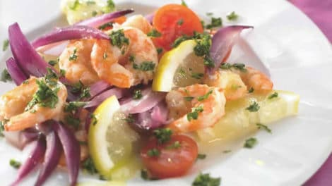 Salade à la sicilienne au Thermomix