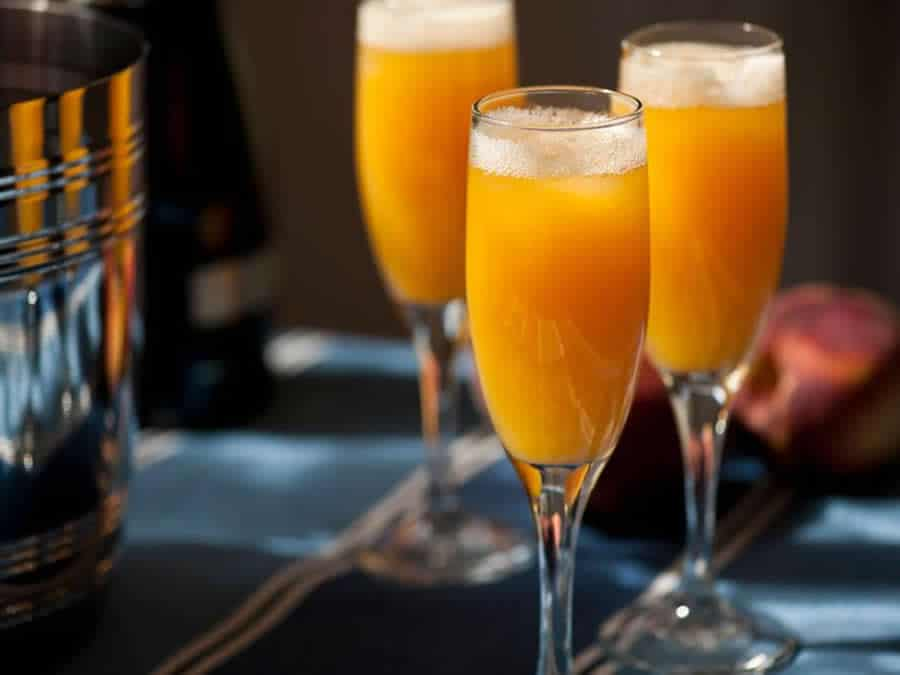 Bellini cocktail vénitien au Thermomix