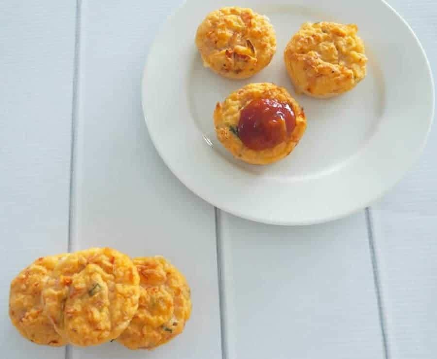 Muffins aux tomates et jambon au Thermomix