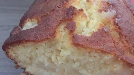 Cake mascarpone et poires au Thermomix