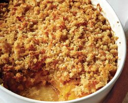 Crumble de poulet et courge butternut au Thermomix