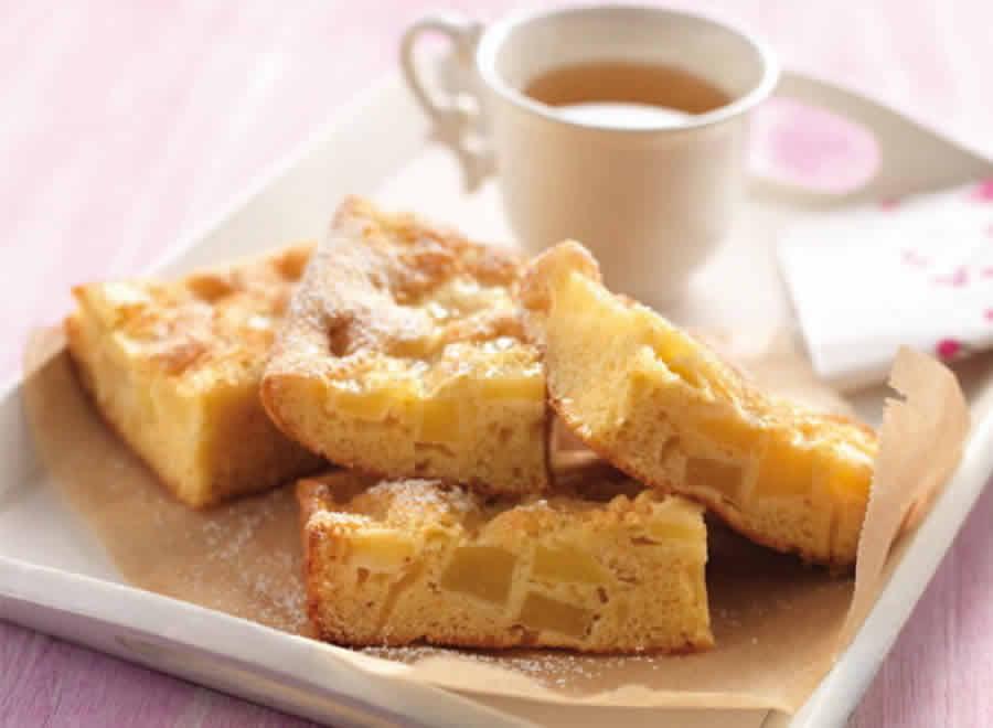 Gâteau aux pommes et poires Recette WW