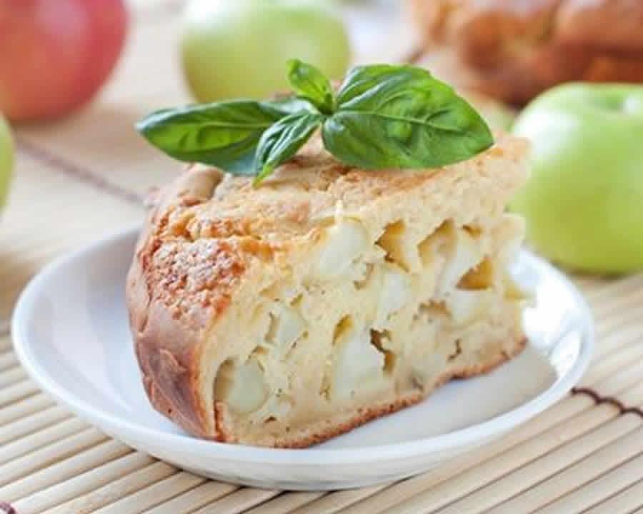 Gâteau aux pommes sans gluten au Thermomix