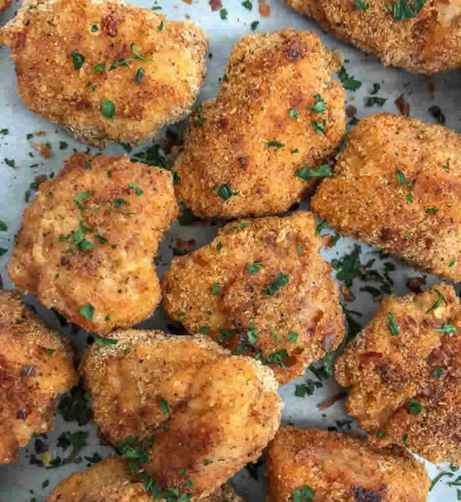 Nuggets de poulet aux épices Recette WW