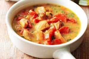 Blanquette de poulet au curry Recette WW