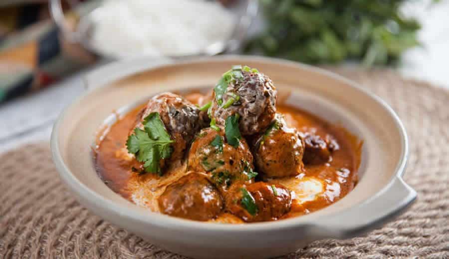 Boulettes de viande à l'indienne au Cookeo