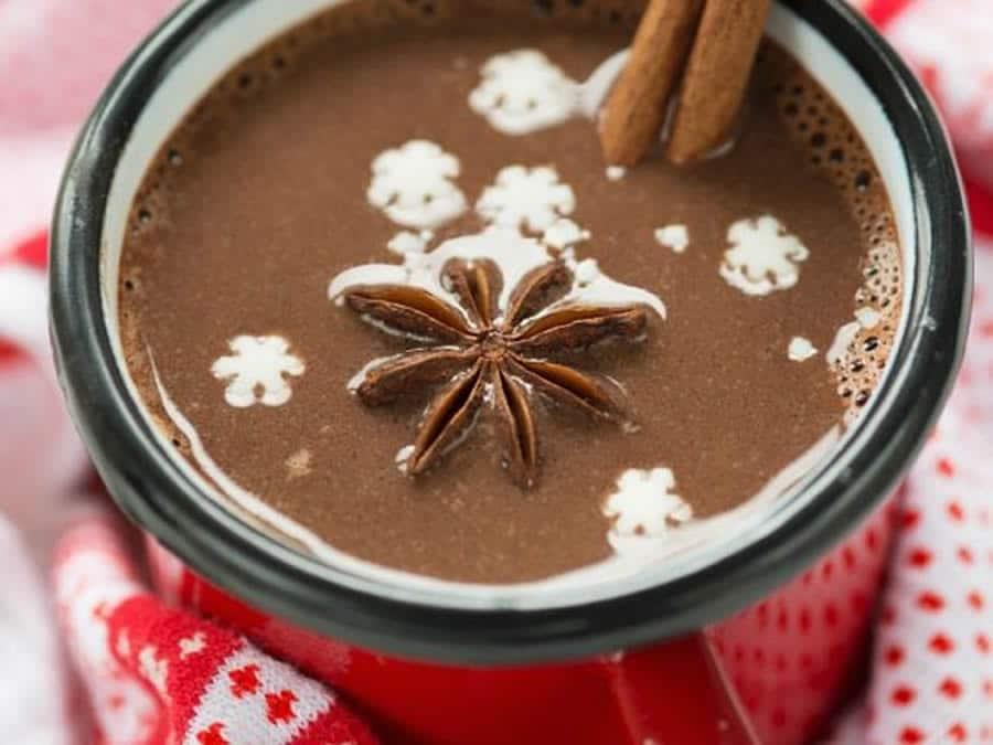 Chocolat chaud aux épices au Thermomix