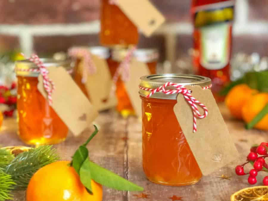 Confiture de Noël à l'orange au Thermomix