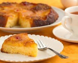 Gâteau à l'ananas au Cookeo