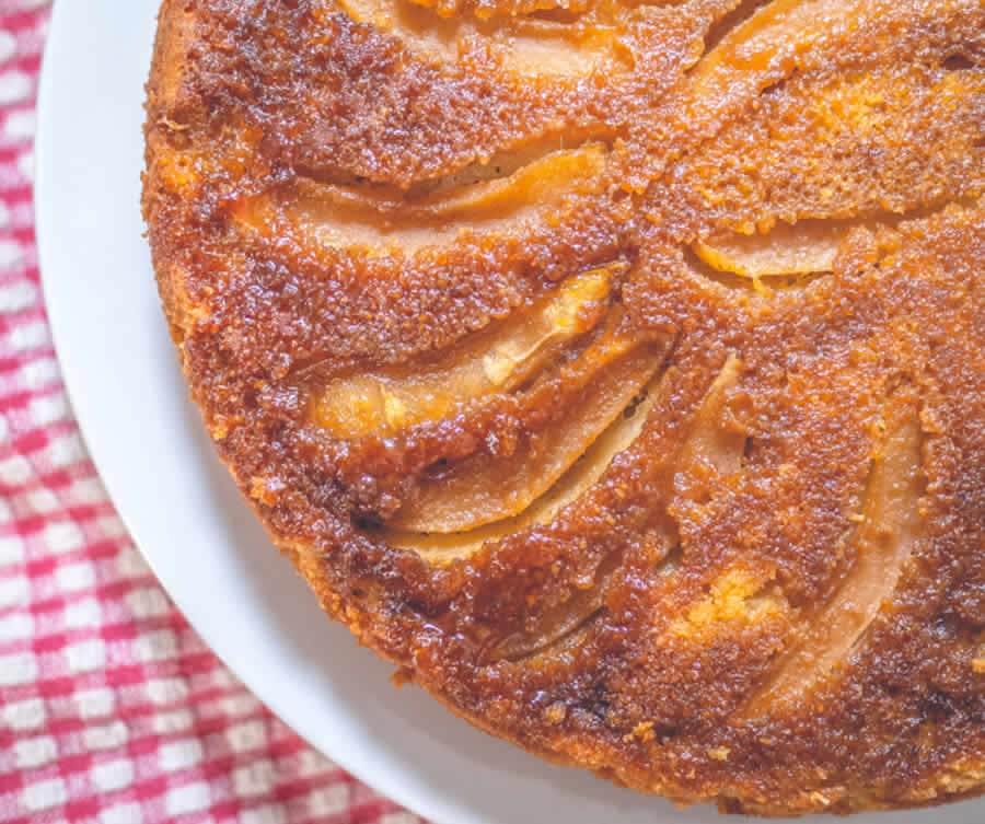 Gâteau aux pommes caramélisé au Thermomix