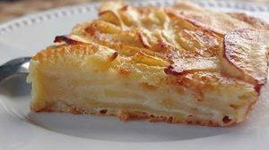 Gâteau invisible aux pommes au Thermomix