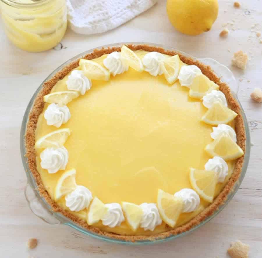 La tarte au citron au Thermomix