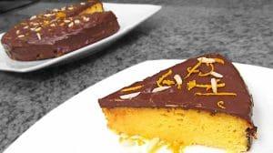 Moelleux à l'orange et au chocolat au Thermomix