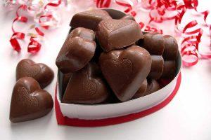 Petits cœurs au chocolat au Thermomix