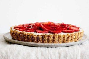 Tarte aux fraises et aux spéculoos au Thermomix