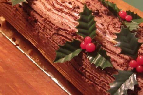Bûche de Noël au café au Thermomix