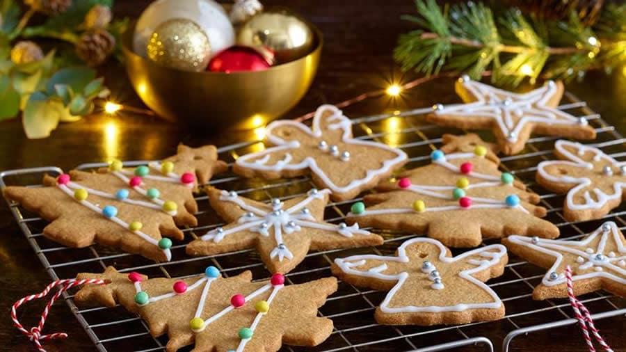 Biscuits de Noël à la cannelle et gingembre
