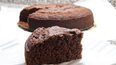 Gâteau au yaourt et cacao Recette WW
