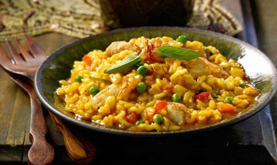 Risotto à l'indienne au Thermomix