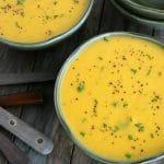 Soupe aux carottes et panais au Thermomix