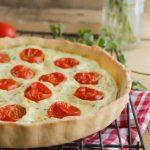 Tarte au thon et tomates cerises Recette WW