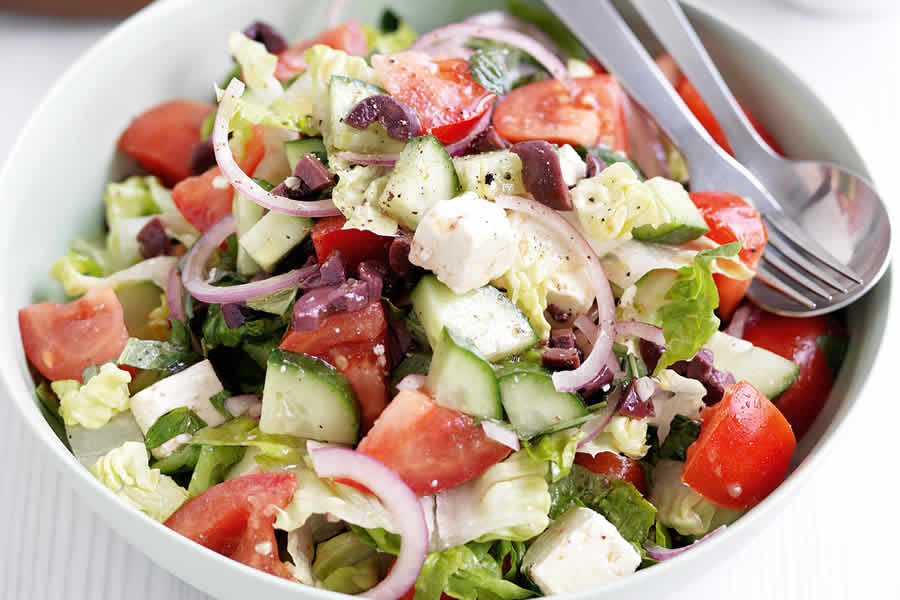 Salade Grecque au thermomix