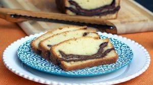 Cake Coeur de Nutella au Thermomix