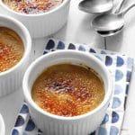 Crème brûlée aux pommes WW