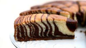 Gâteau au Yaourt express zébré au Thermomix