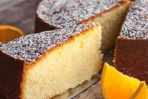 Gâteau au jus d'orange au Thermomix