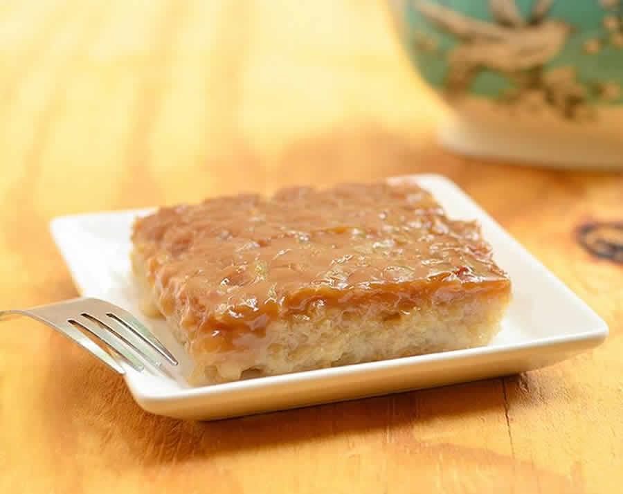 Gâteau de riz caraméliser au Thermomix