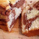 Marbré moelleux chocolat et vanille au Thermomix